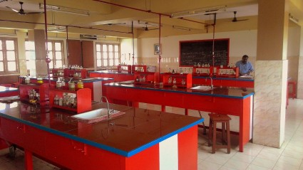 At the Chemistry Lab