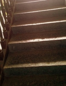 These stone stairs have seen over a 100 years of the schools history