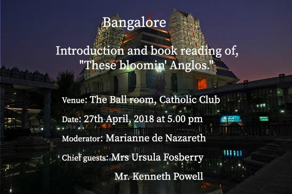 These Bloomin' Anglos Launch Event at Bangalore