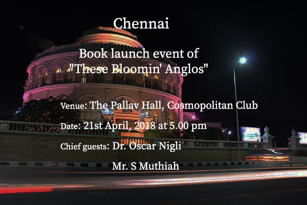 These Bloomin' Anglos Launch Event at Chennai