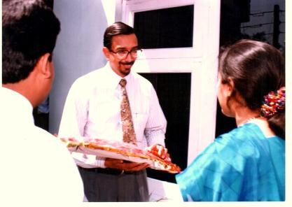 Picture 2: Hari at the Jammu OSA inauguration